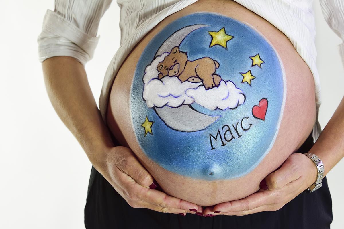 Belly paint Mataró