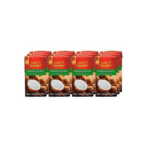 Leche de coco Orient Gourmet 12 x 500 ml