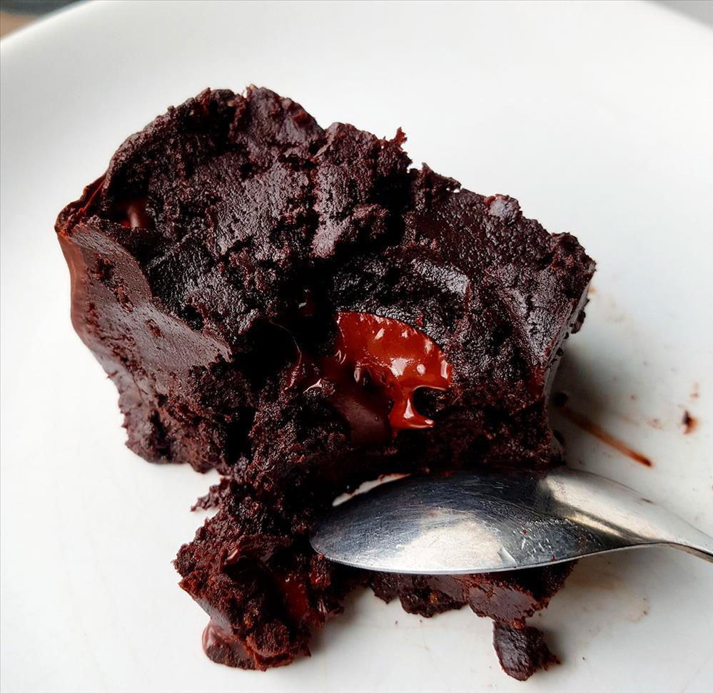Brownie sin gluten de trigo sarraceno