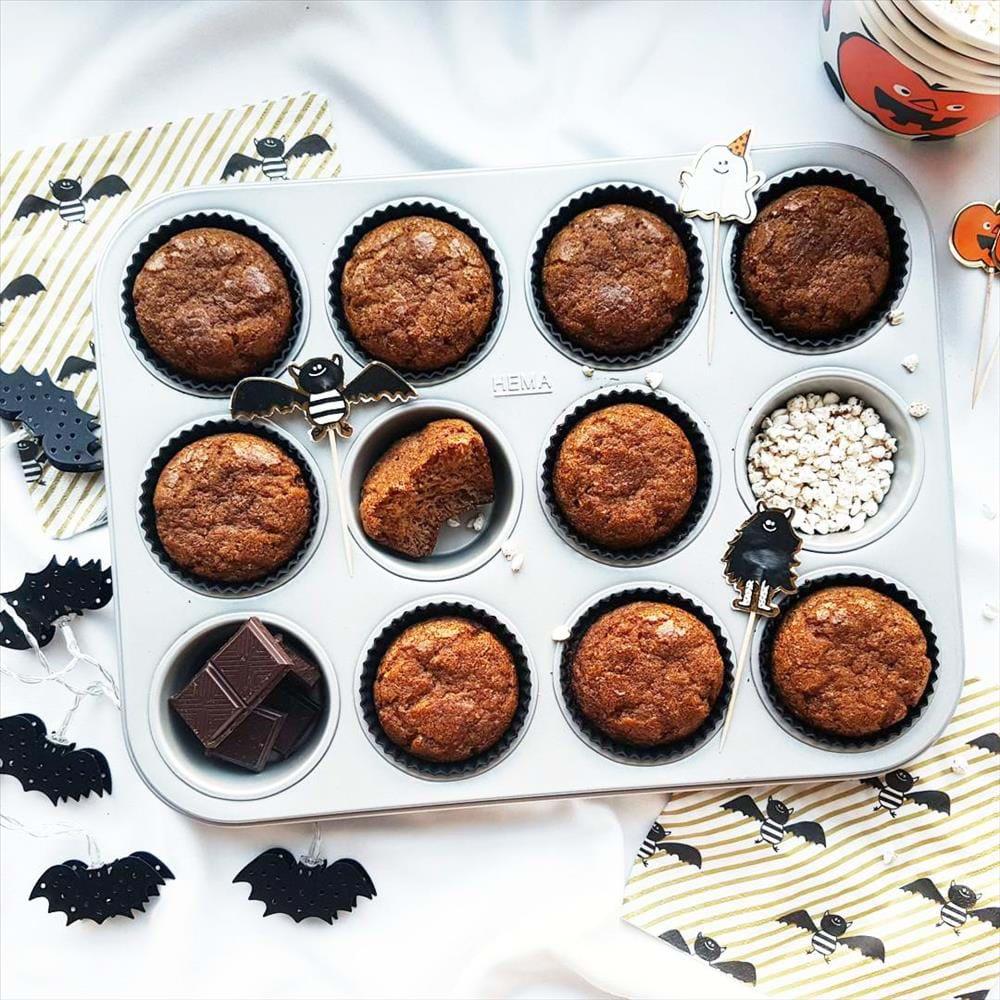 Muffins de calabaza