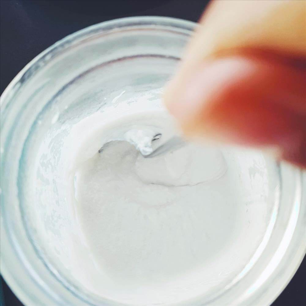 Yogur de leche de coco
