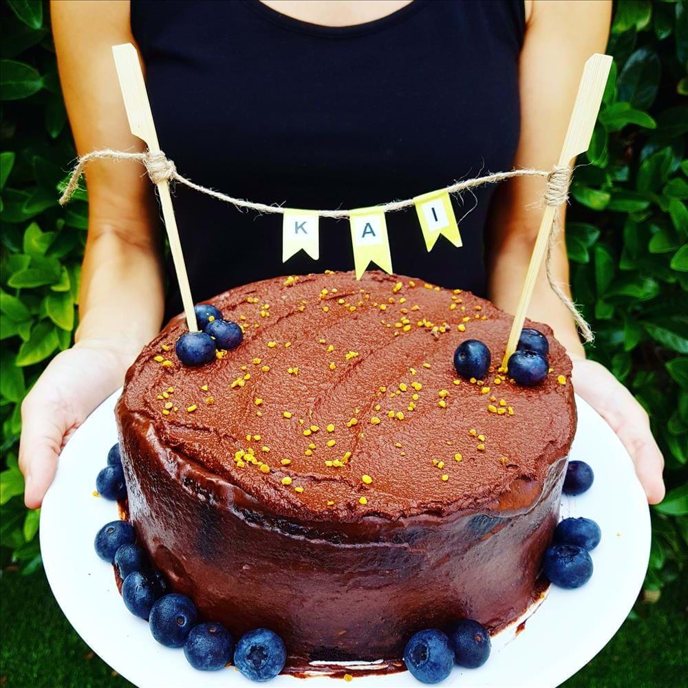 El mejor pastel de chocolate sin gluten, sin lácteos y sin frutos secos